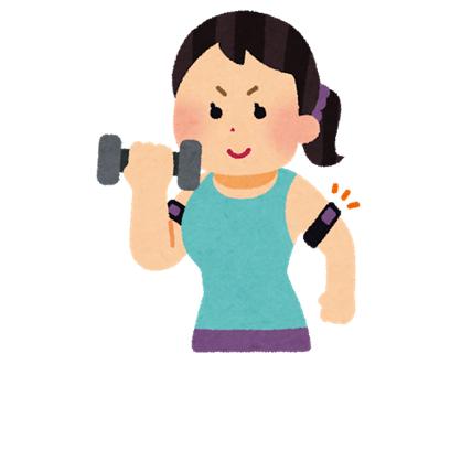筋量・筋力の低下